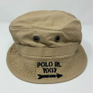 Vintage 90s Polo Ralph Lauren Outdoors Bucket Hat